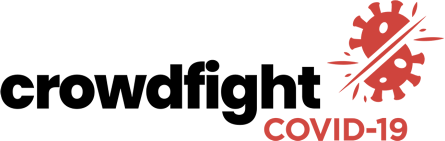 Crowdfight COVID-19 Logo